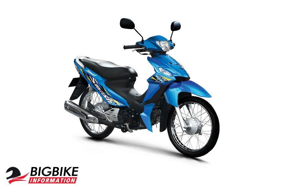 ซูซูกิ สแมช 110 สีฟ้า