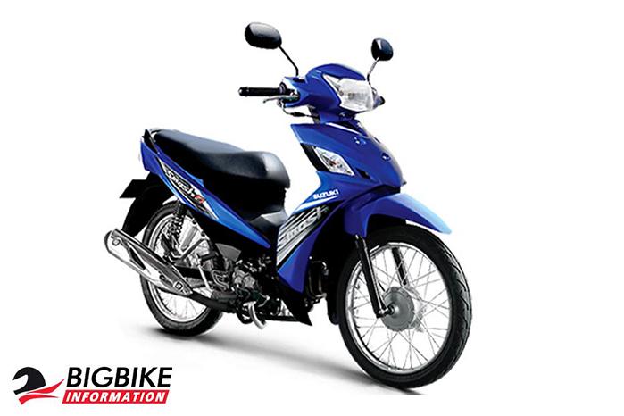 ซูซูกิ สแมช 115 Fi สีน้ำเงิน