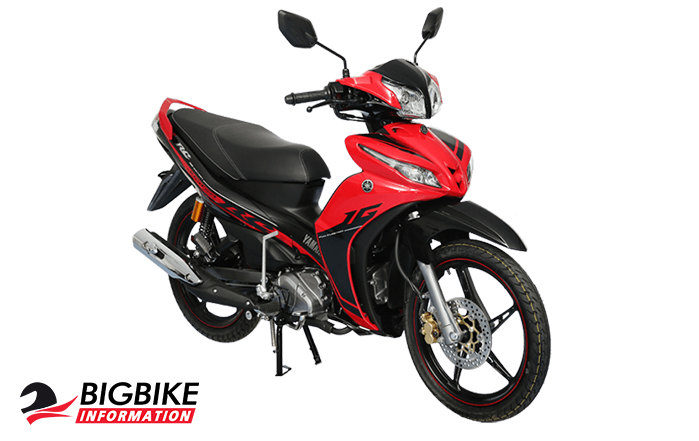 Yamaha Jupiter RC 2017 สีแดง
