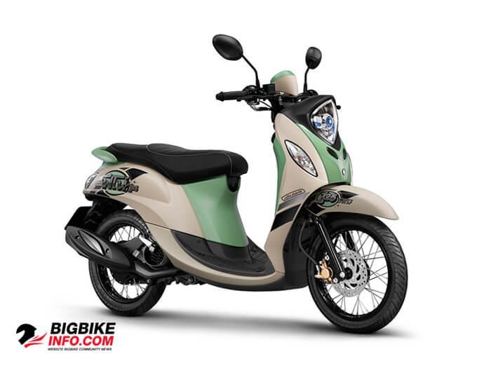 ยามาฮ่า ฟีโน่ 125 ปี 2015 รุ่น Retro Sport สีขาว-เขียว-ดำ