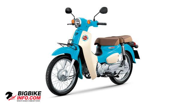ฮอนด้า ซุปเปอร์ คับ ปี 2019 สีฟ้า-ขาว