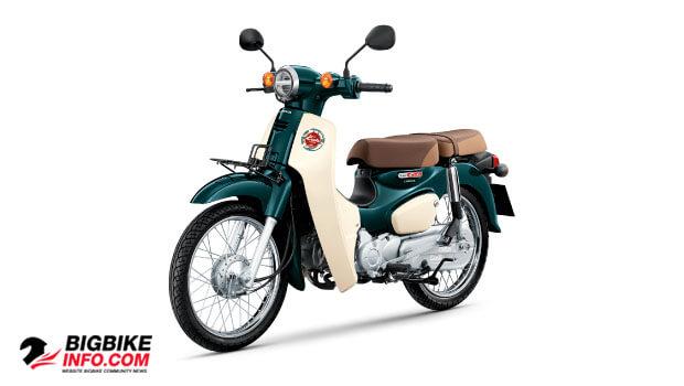 ฮอนด้า ซุปเปอร์ คับ ปี 2019 สีเขียว-ขาว