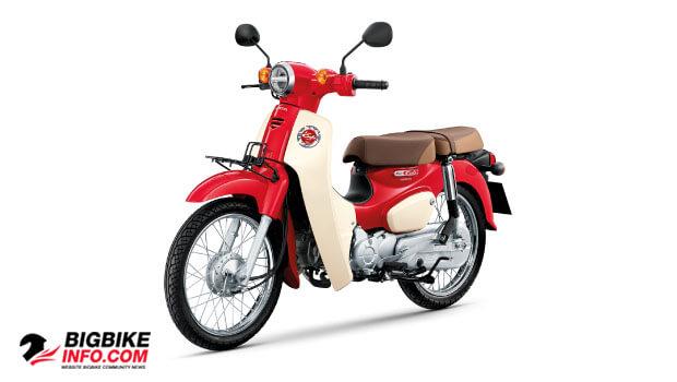 ฮอนด้า ซุปเปอร์ คับ ปี 2019 สีแดง-ขาว