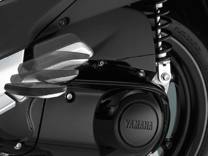 Yamaha Grand Filano Hybrid ปี 2019 ที่วางเท้ากว้าง เพียงกดก็พร้อมใช้