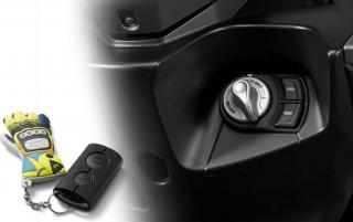 กุญแจอัจฉริยะ Yamaha Aerox 155 ปี 2019