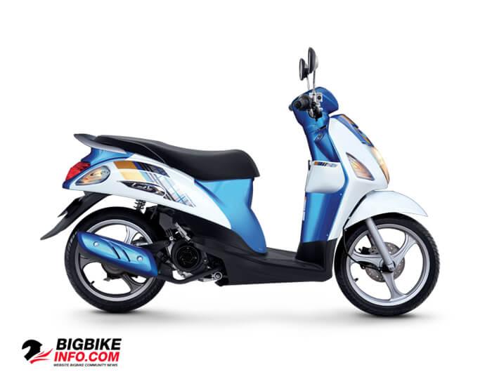 ซูซูกิ เลทส์ พรีเมี่ยม สีน้ำเงิน-ขาว (HWA)