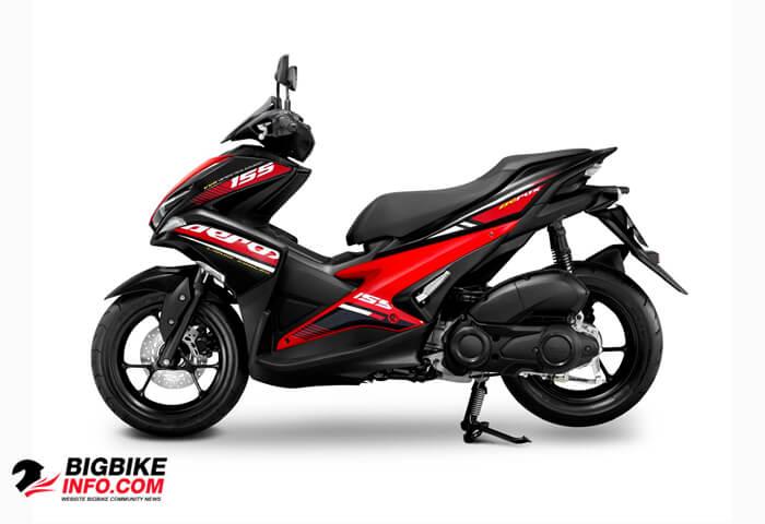ยามาฮ่า แอร็อกซ์ 155 ปี 2019 รุ่น STD Version สีดำ-แดง