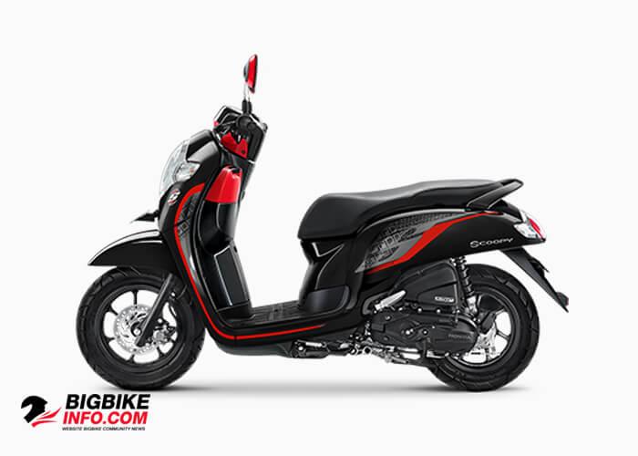 Honda Scoopy eSP ปี 2019 รุ่น Sporty สี Black