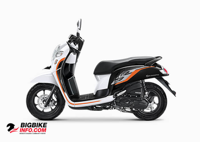 Honda Scoopy eSP ปี 2019 รุ่น Sporty สี White