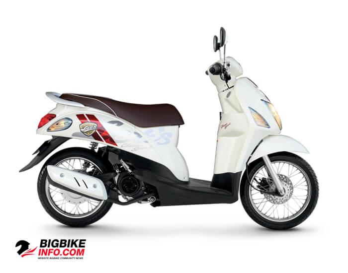 Suzuki Lets Sport สีขาว (W9F)