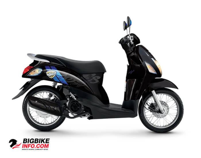 Suzuki Lets Sport สีดำ (YNR)
