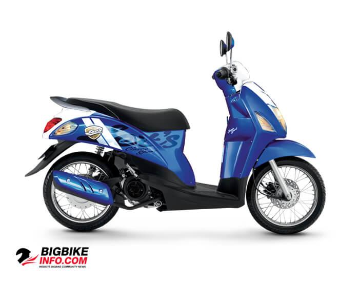 Suzuki Lets Sport สีน้ำเงิน – ขาว (BVQ)