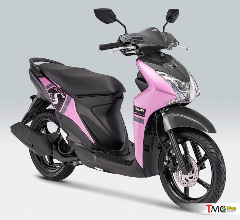 ยามาฮ่า MIO S 2019 สี Mesmerize Pink