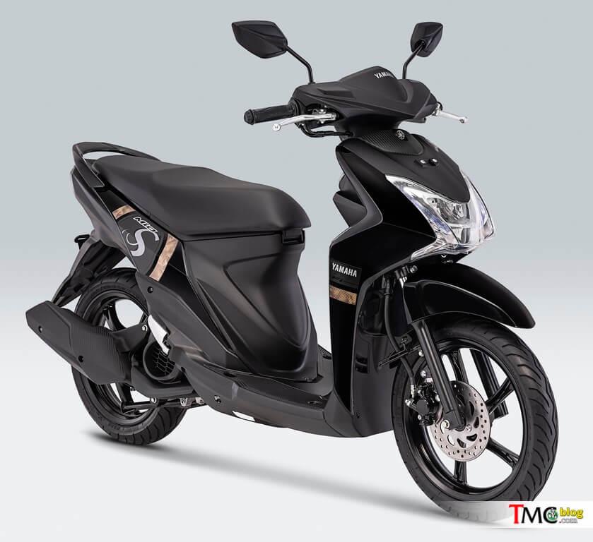 ยามาฮ่า MIO S 2019 สี Mighty Black