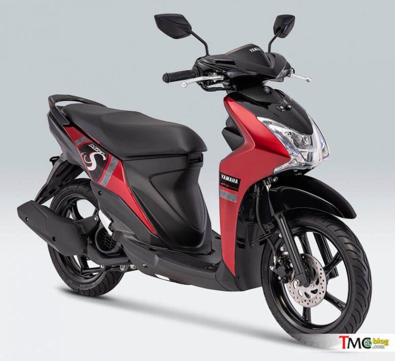 ยามาฮ่า MIO S 2019 สี Mysterious Red