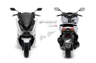 เผยภาพกราฟิก New Honda PCX150 Sport แปลงโฉมพีซีเอ็กซ์ให้สปอร์ตขึ้น
