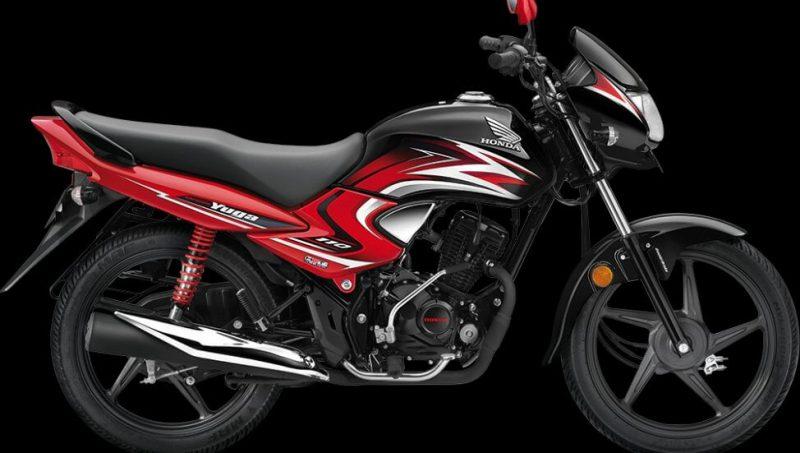 ฮอนด้า ดรีม ยูกะ ซีบีเอส สี Black With Radiant Red Metall