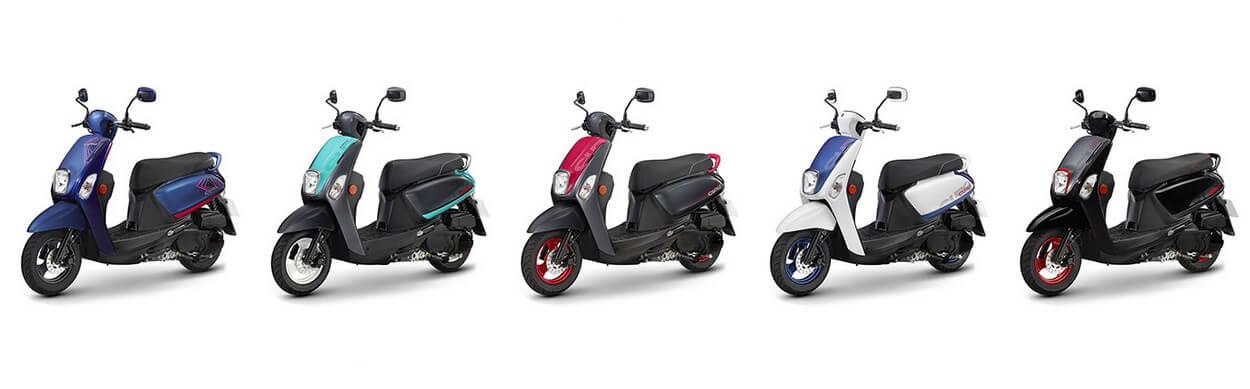Yamaha เปิดตัวมอเตอร์ไซค์รุ่น Cuxi 115 ปี 2019 ทั้งหมด 5 สี