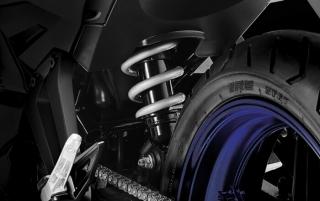 Yamaha Exciter 150 ปี โช้คเดี่ยว