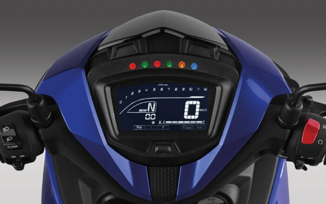 Yamaha Exciter 150 ปี 2019 หน้าปัดเรือนไมล์