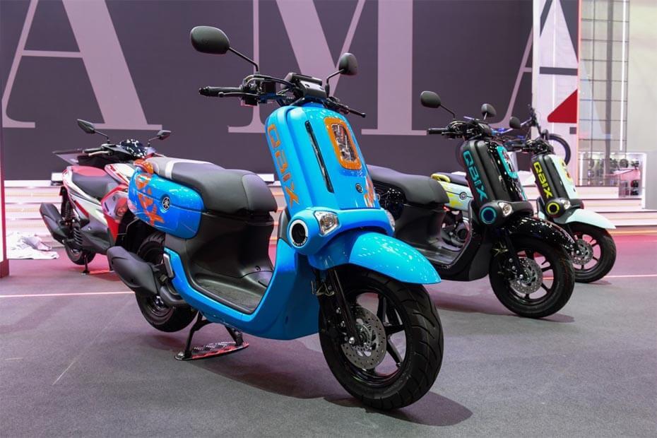 Yamaha QBIX 2019 ภาพจาก bangkok-motorshow