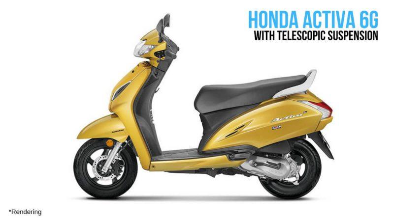 คาดเปิดตัว Honda Activa 6G รุ่นใหม่ที่ประเทศอินเดียช่วงเทศกาลในปี 2019