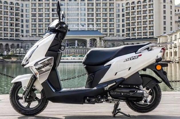 ซูซูกิ Swing-R 125 2019 สีขาว