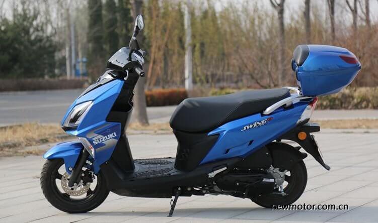 ซูซูกิ Swing-R 125 2019 สีน้ำเงิน