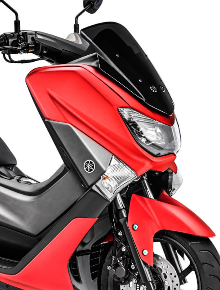 ยามาฮ่า เอ็นแม็กซ์ 155 สีแดงแมท ช่วงไฟหน้า