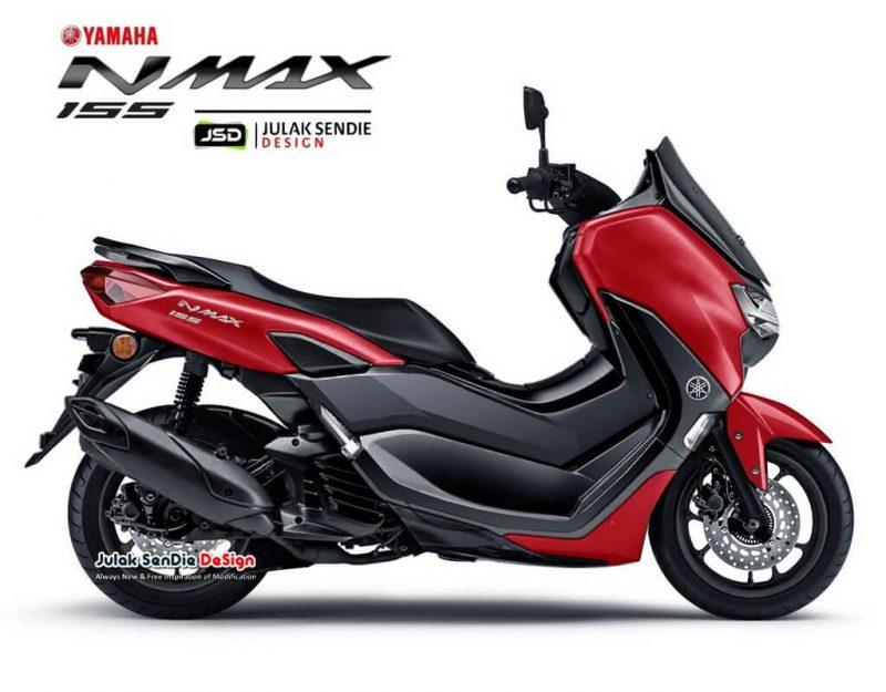 ยามาฮ่า เอ็นแม็กซ์ 155 สีแดง