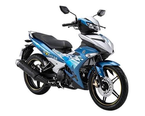 ยามาฮ่า Exciter 150 SE สีน้ำเงิน-ขาว