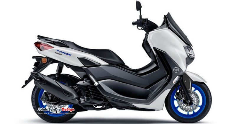 ภาพร่าง CG หลักฐานชัดเจน All New Yamaha NMAX