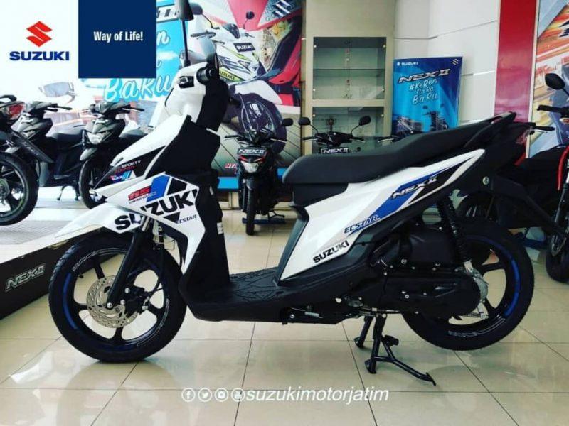 อัพเดทสีใหม่ Suzuki Nex II รุ่น Limited Edition