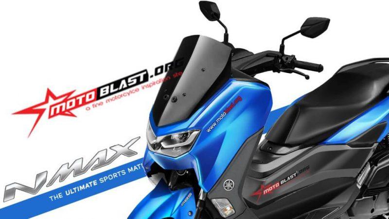 เผยภาพ CG All New Yamaha NMAX คาดเปิดตัวภายในปี 2019