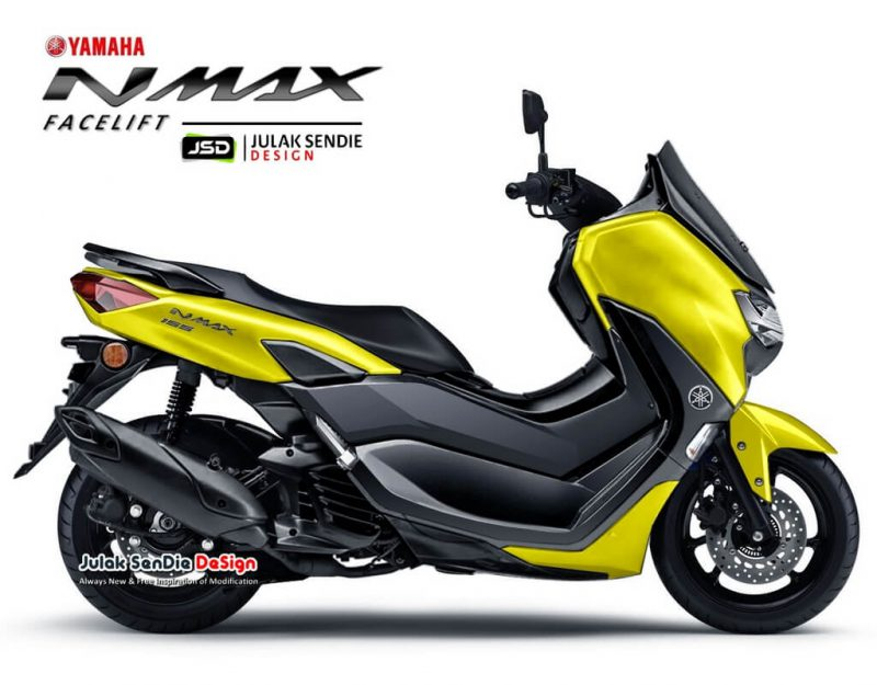 เผยภาพ CG All New Yamaha Nmax 155 สกูตเตอร์สปอร์ตพรีเมี่ยมกับสีสันโดนเด่น