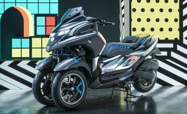 เผยภาพ CG Yamaha 3CT 2019 คาดอาจเปิดตัวปลายปีนี้