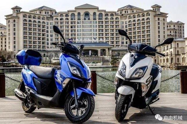โมเดลใหม่ล่าสุด Suzuki Swing-R 125 เปิดตัวแล้วที่ประเทศจีน