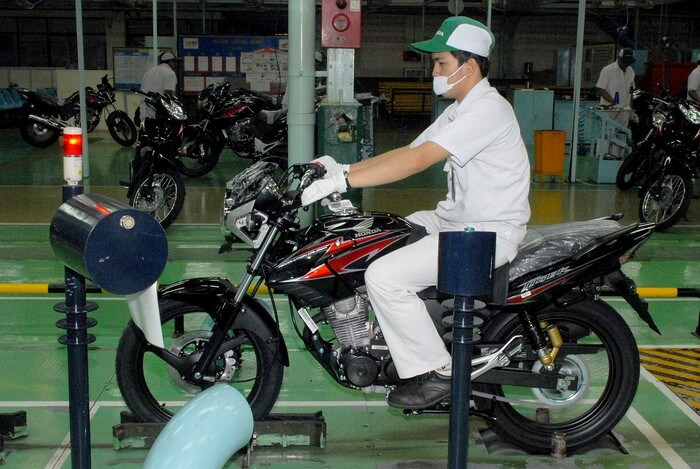 Honda Tiger ช่วงการผลิต