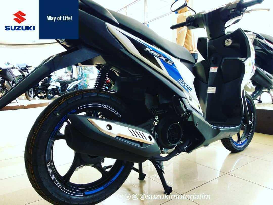 Suzuki Nex II Limited Edition ช่วงท้าย