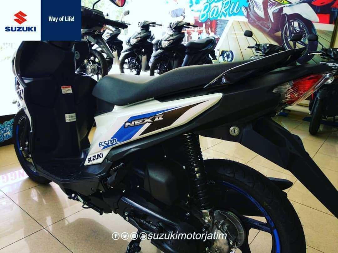 Suzuki Nex II Limited Edition ลวดลาย