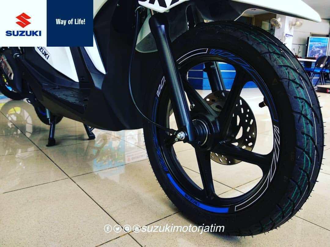 Suzuki Nex II Limited Edition ล้อหน้า