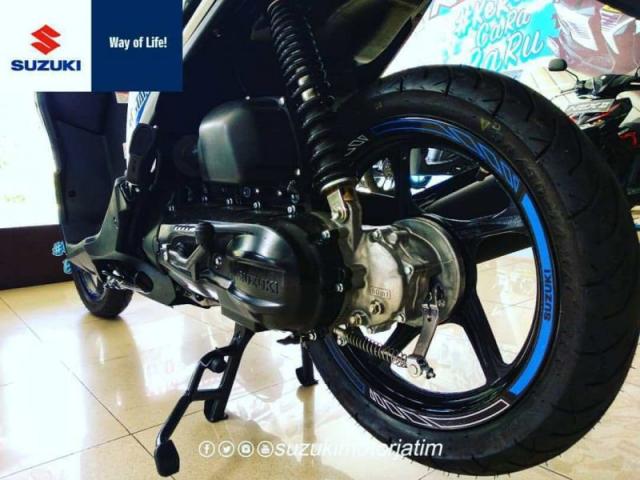 Suzuki Nex II Limited Edition ล้อหลัง