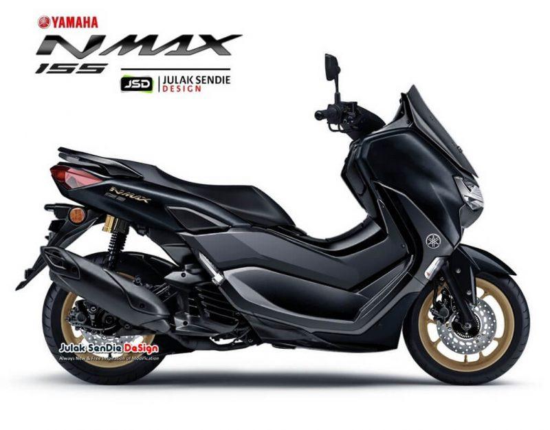 Yamaha Nmax 155สีดำ
