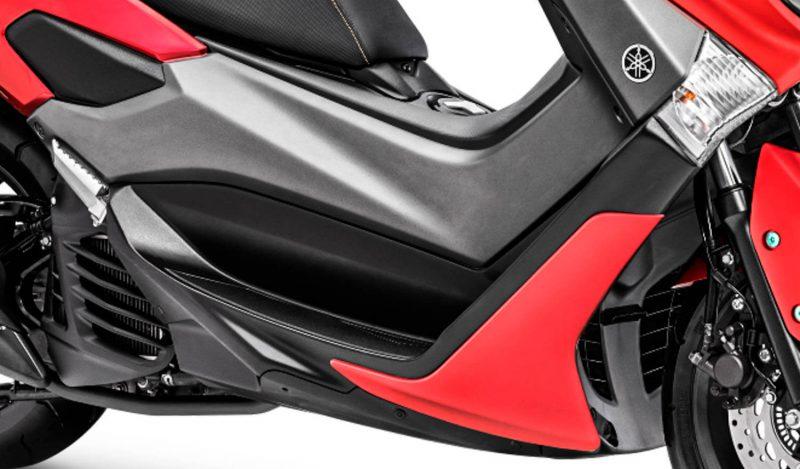 Yamaha Nmax 155 Matte Red 2019 ด้านข้าง