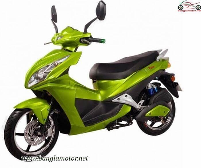 กรีน ไทเกอร์ จีที5 พลัส สีเขียว