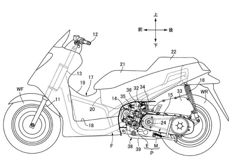 สิทธิบัตรใหม่ Honda PCX คาดมาพร้อมระบบวาล์ว VTec พร้อมเปิดตัวในปี 2021