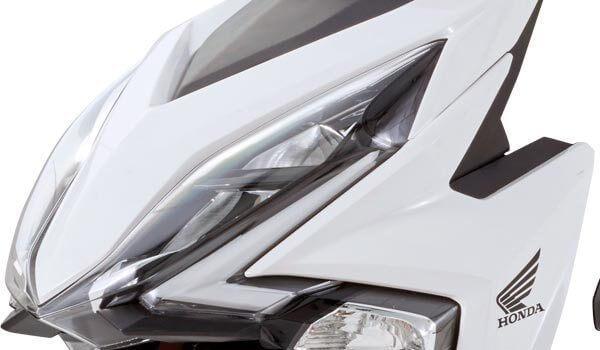 Honda Elite 125 ช่วงไฟหน้าที่คมขึ้น