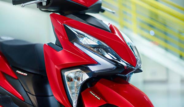 Honda Elite 125 ไฟหน้า
