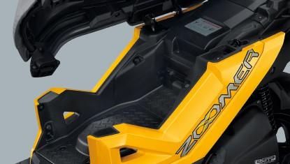 Honda Zoomer-X ปี 2019 ช่องเก็บของใต้เบาะ