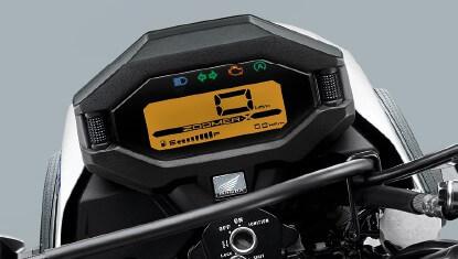 Honda Zoomer-X ปี 2019 หน้าจอดิจิทัล